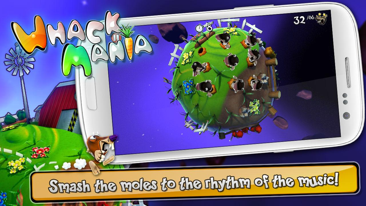 Whack Mania Free - screenshot