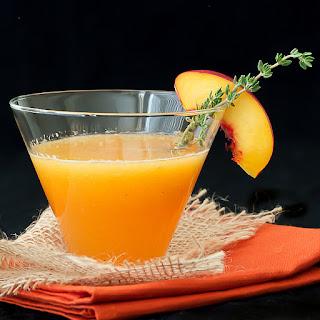 Nectarine Thyme-tini