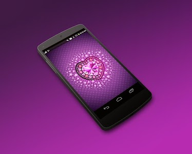 Diamond Heart 3D LiveWallpaper screenshot 7