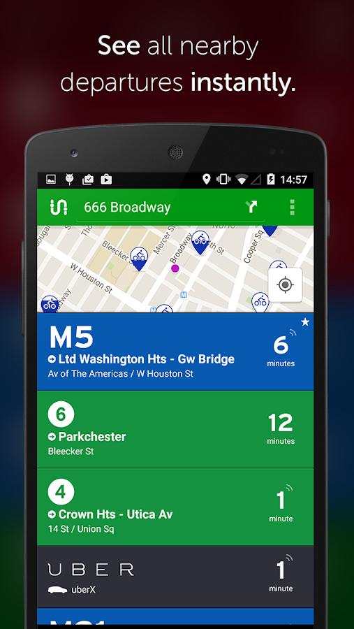 Transit App: Metro, Bus, Bike - screenshot