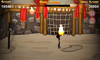 Screenshot of Stickman DEATH Basketball HD