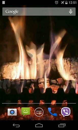 玩免費個人化APP|下載暖炉のビデオライブ壁紙 app不用錢|硬是要APP