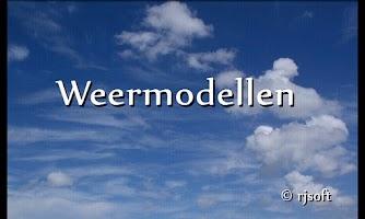 Screenshot of weermodellen
