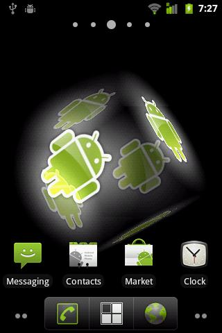 Droid Live Wallpaper - screenshot