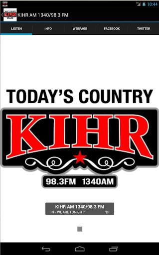 KIHR AM 1340 98.3 FM