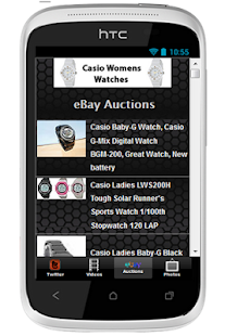 Casio Womens Watches - screenshot thumbnail
