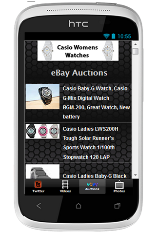 Casio Womens Watches - screenshot