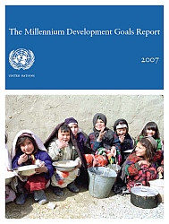 Cover of UN MDG Report 2007