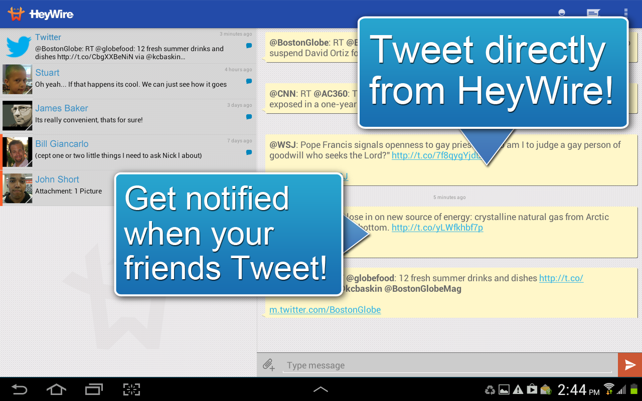 HeyWire Text  FREE Texting - screenshot