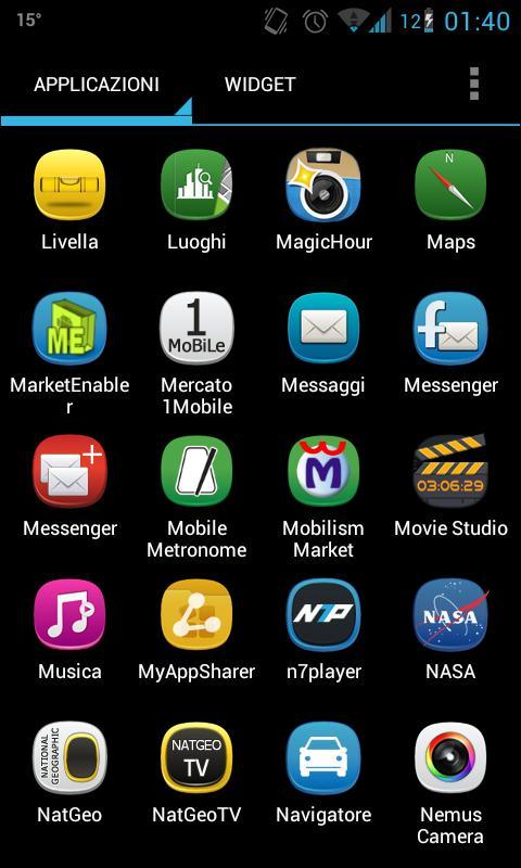 Belle Theme for Apex Launcher- screenshot