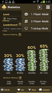 Open Face Chinese Poker- screenshot thumbnail