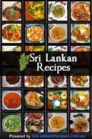 Screenshot of Sri Lankan Recipes