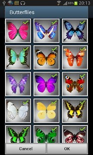 Butterflies LITE LWP- screenshot thumbnail