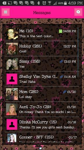 GO SMS THEME - EQ1