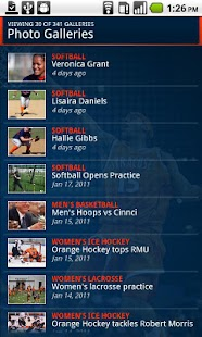 Syracuse University Athletics - screenshot thumbnail