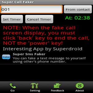 Super Call Faker (Free) 商業 App LOGO-硬是要APP