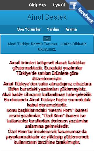 Ainol Destek