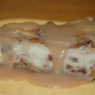 Caramelized Banana Cheesecake.