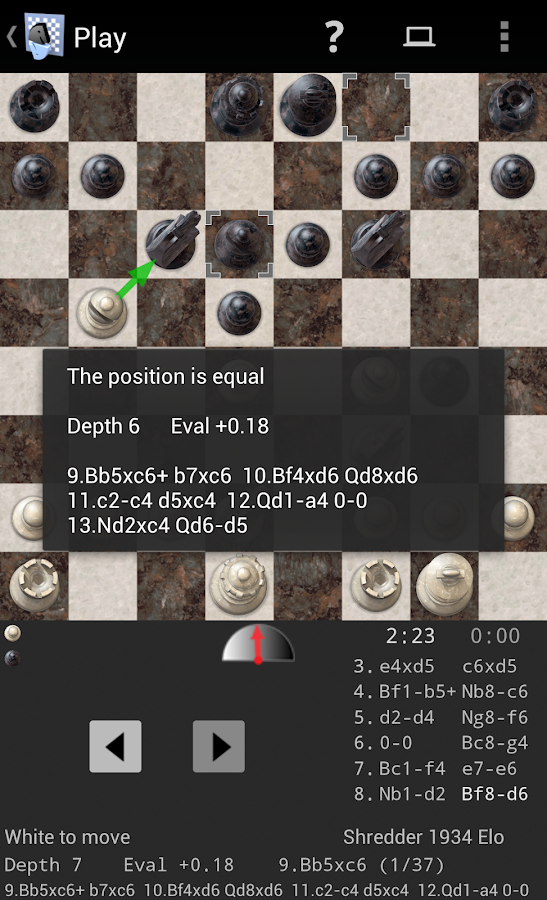 Shredder Chess- screenshot