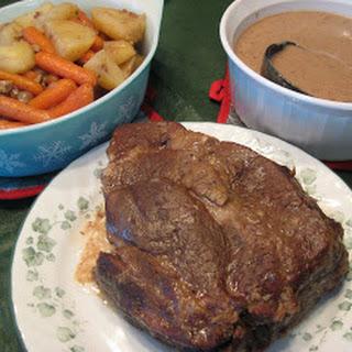 Crock pot Beef Roast and Veggies.