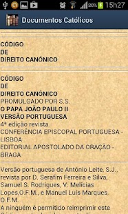 Documentos da Igreja - screenshot thumbnail