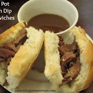 Crock Pot Spicy French Dip Sandwiches.