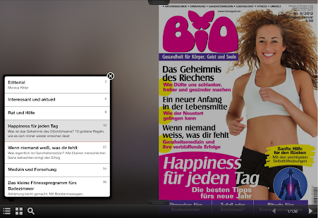 BIO Magazin- screenshot thumbnail