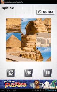 Famous Landmarks Puzzles FREE - screenshot thumbnail