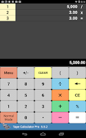 Screenshot of Tape Calculator Pro