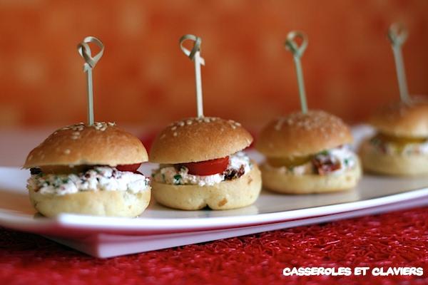 Mini Cheese Burgers Recipe