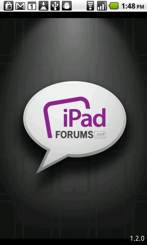 iPad Forums - screenshot