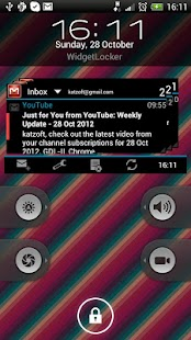 Gmail Widgets - screenshot thumbnail