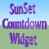 SunSet Countdown Widget
