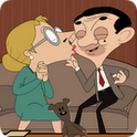Mr.Bean kissing icon