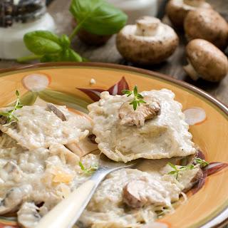 Mushroom Walnut Ravioli