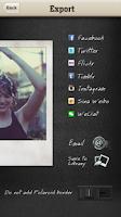 Screenshot of Instant: Polaroid Instant Cam