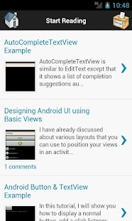 Android Aspect - screenshot thumbnail