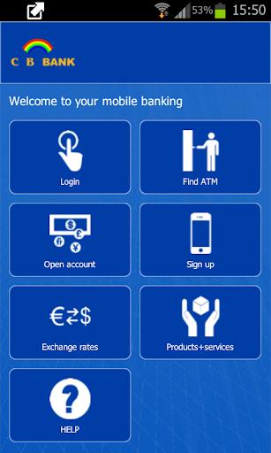 CB Bank Mobile Banking