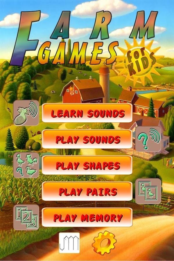 Farm Games for Kids FREE- screenshot