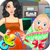 Caesarean birth girls games