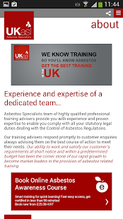 UKasl The Asbestos Specialists- screenshot thumbnail