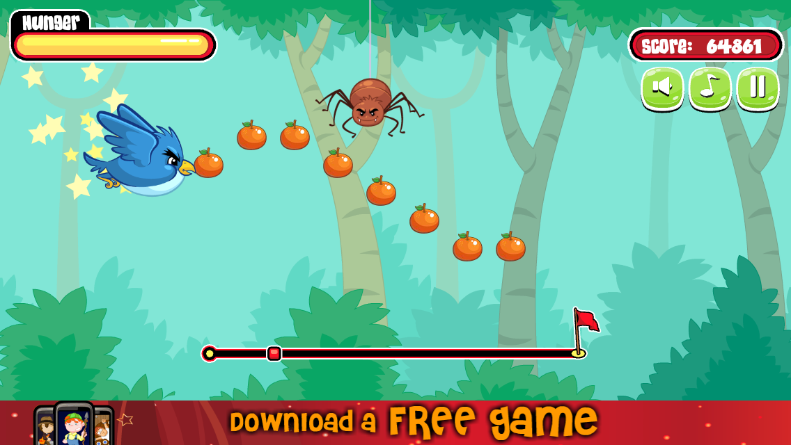Hungry Bird - screenshot