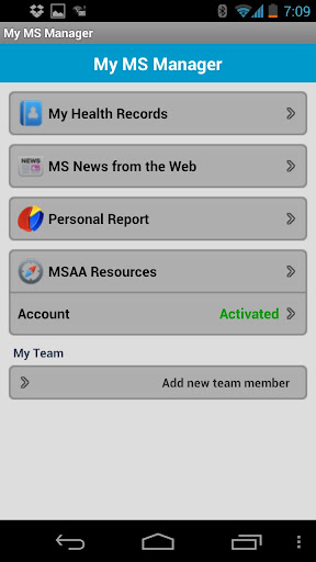 MSAA Self-Care Manager
