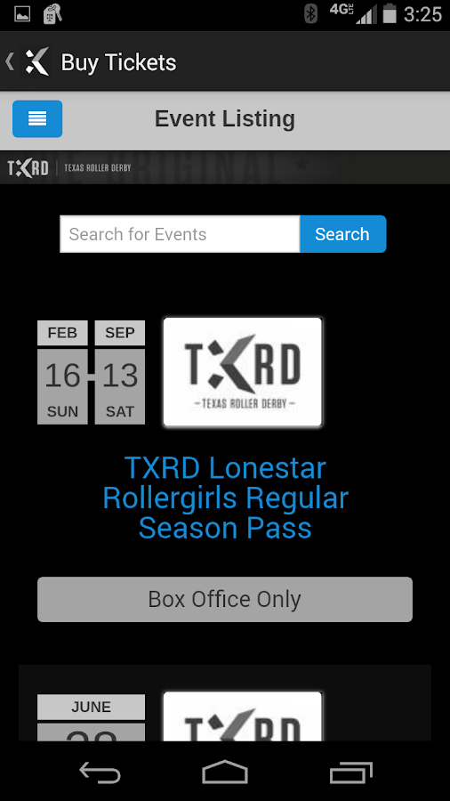 TXRD - screenshot