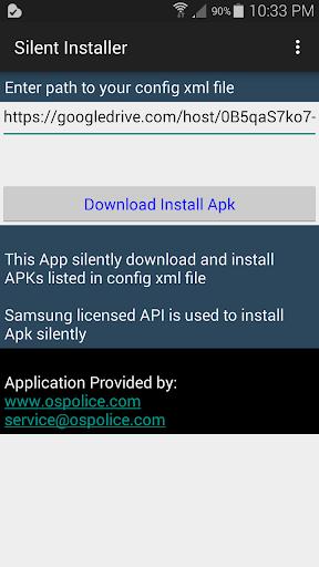 Silent APP Installer