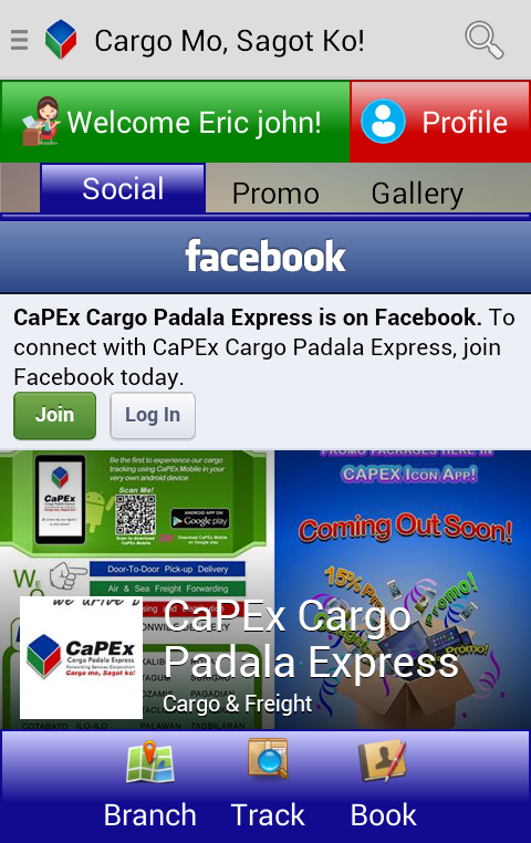 CaPEx Mobile- screenshot