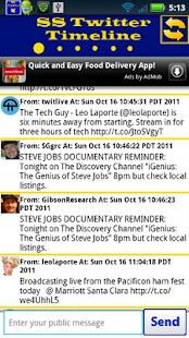 SS Twitter App- screenshot thumbnail