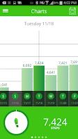 Screenshot of Striiv Activity Tracker