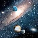 Planets n Stars Live Wallpaper logo