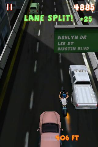 Lane Splitter - screenshot